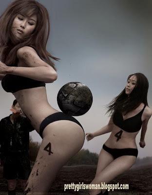 sexy butt of chinese football girls