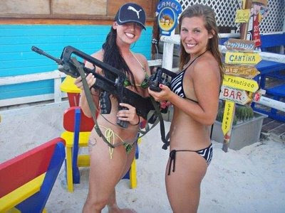 guns and women styles