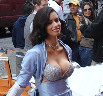 adriana lima 2 Million Dollar Bra