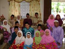 my family & sepupu