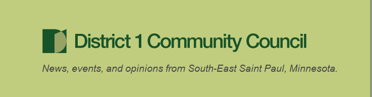 District 1 Community Council Blog