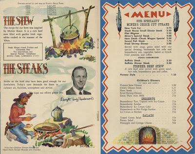 Luncheon menu - clawson steakhouse: toledo talk post: new el camino real