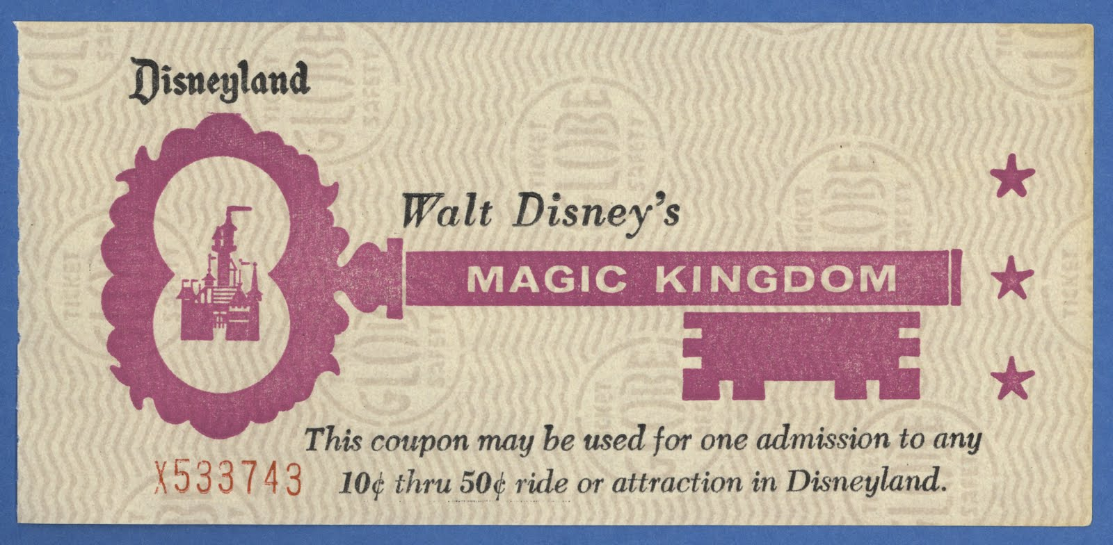 Other Places to Buy Advance Purchase Discount Disneyland Tickets Direct Purchase From Disney. You can obviously buy Disneyland tickets directly from Disney, but there are no advance purchase discounts online or by phone, except during rare special promotions.