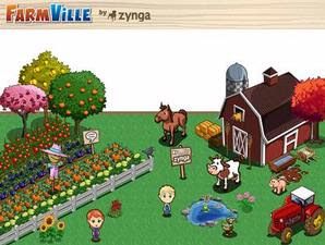 Farmville Most Popular on Facebook