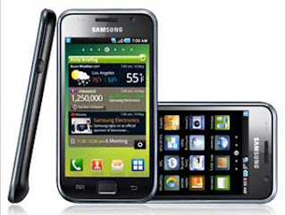 Samsung Galaxy S the New Android smartphone from Samsung
