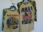vintage camo..iron maiden and ratt