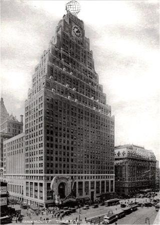 daytonian in manhattan the 1926 art deco paramount building times square. Black Bedroom Furniture Sets. Home Design Ideas