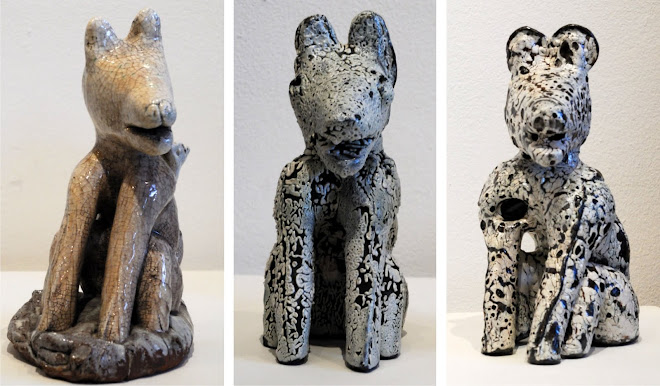 CERAMIC DOGS BY NICOLENE SWANEPOEL