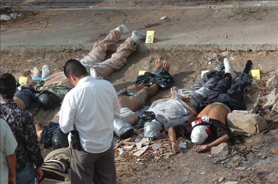 CRUEL RITUAL DE INICIACION DE NARCOS MEXICANOS