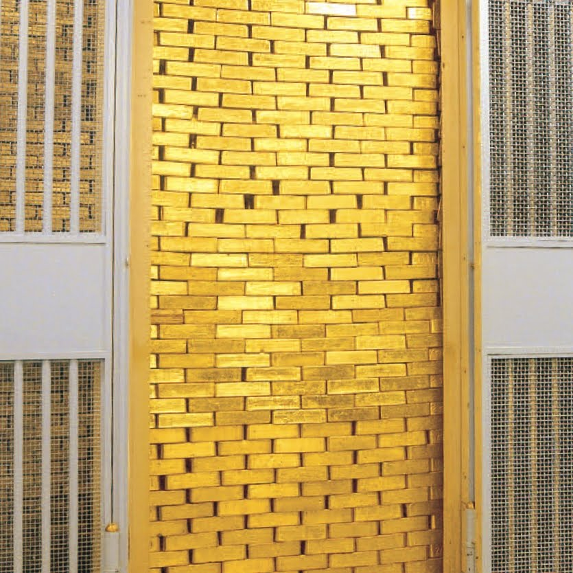 Federal Reserve Bank Of New York Gold Vault Tour