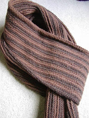 Reversible Herringbone Scarf Pattern