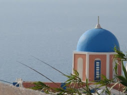 Santorini Church Dome