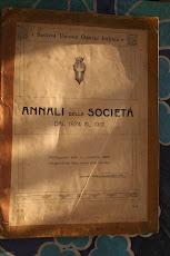 Analli della Societá Unione Operai Italiani 1874-1913