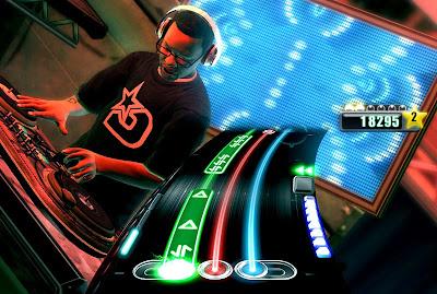 DJ Jazzy Jeff DJ Hero Scratching