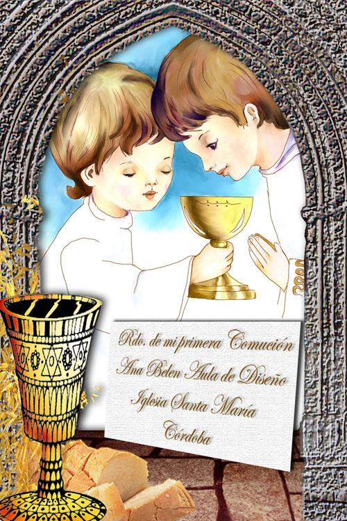 invitacion de primera comunion