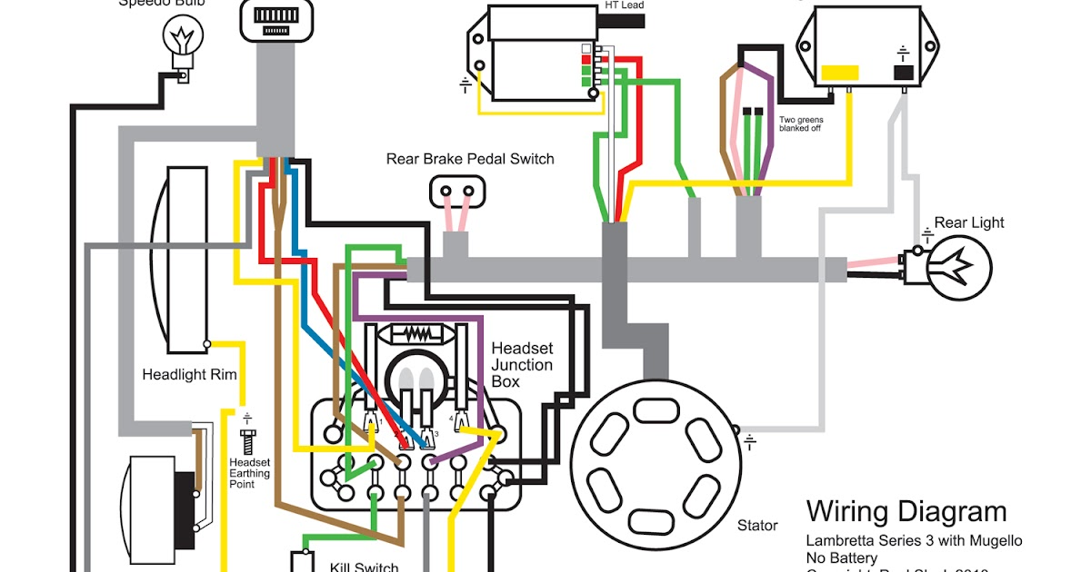 Li150 Wiring lambretta restoration wiring diagram for mugello 12 volt upgrade lambretta headset wiring diagram at gsmx.co