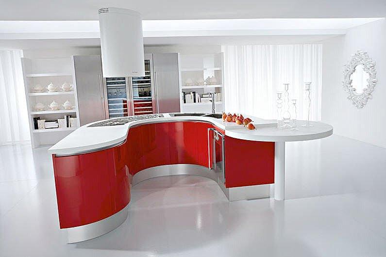 Kusina acabados arquitectonicos iluminacion con estilo - Disenos de islas para cocinas ...