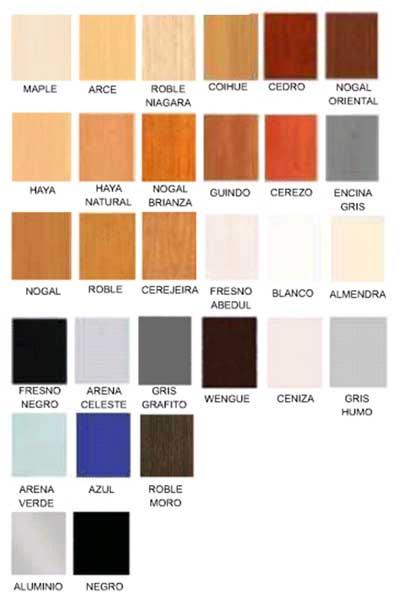 Fabricante de muebles shalom for Colores muebles