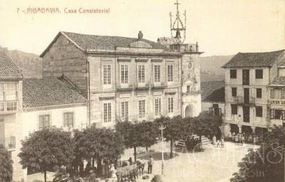 Plaza Mayor Ribadavia