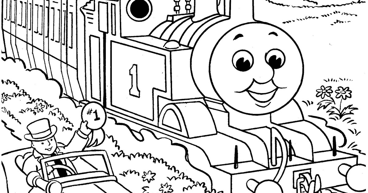 Henry thomas the train coloring pages for Henry the train coloring pages