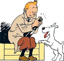 Tintin et milou ; vas y Tintin encore un effort on va féter nos 80 ans !!!