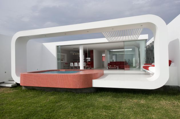 Extreme Home Unique Home Design By Jose Orrego