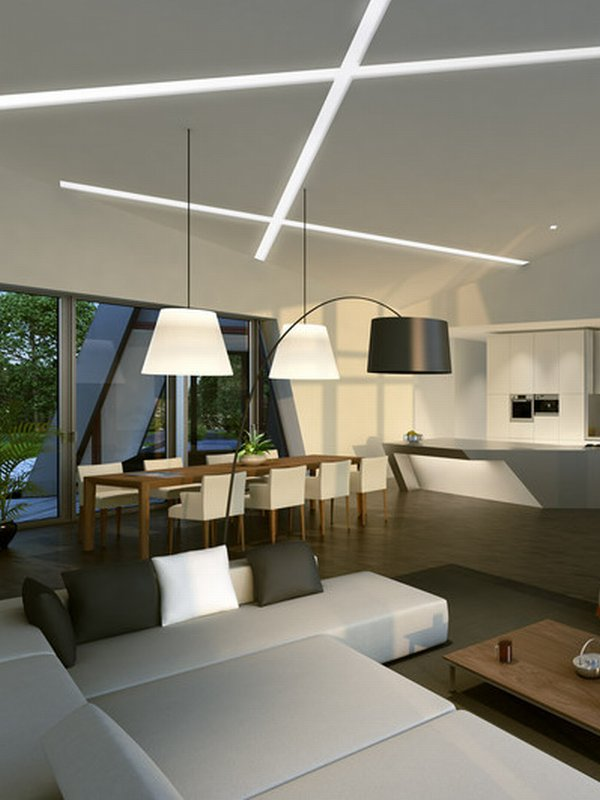 Extreme home beautiful minimalist interior design ideas for Unique minimalist house