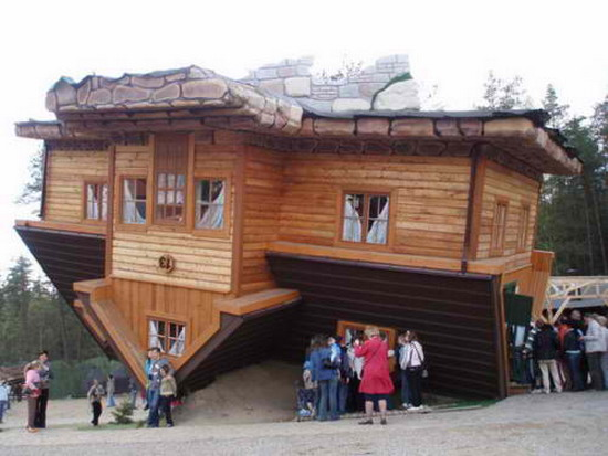 Extreme Home: Upside Down Home Design