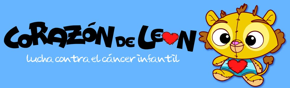 CORAZON DE LEON: Lucha contra el cáncer infantil