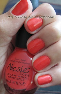 Nicole by OPI The Right Thing
