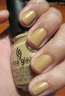 China Glaze Classic Camel
