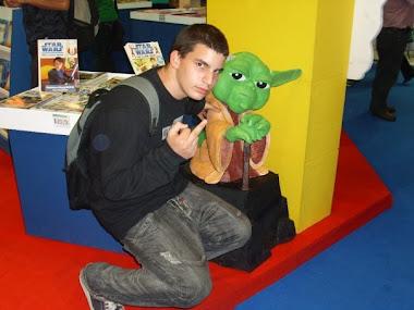 Con el maestro Yoda