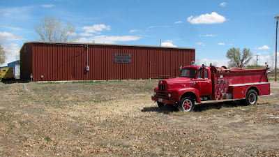 fire department, Manderson, Wyoming