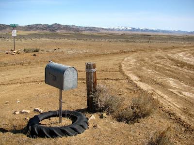 Point of Mountain Road, Bridger Creek Road, Wyoming