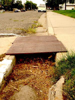 sidewalks in Thermopolis, Wyoming