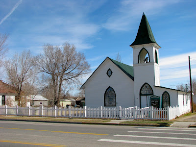 Presbyterian church, Shoshoni, Wyoming