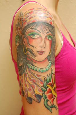 Gypsy Tattoo Picture