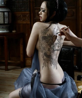 Chinese Tattoo Design Compare With Japanese Tattoo and Asian Tattoo Design