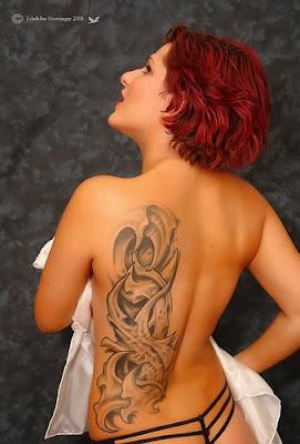 Female Tribal Tattoo Design