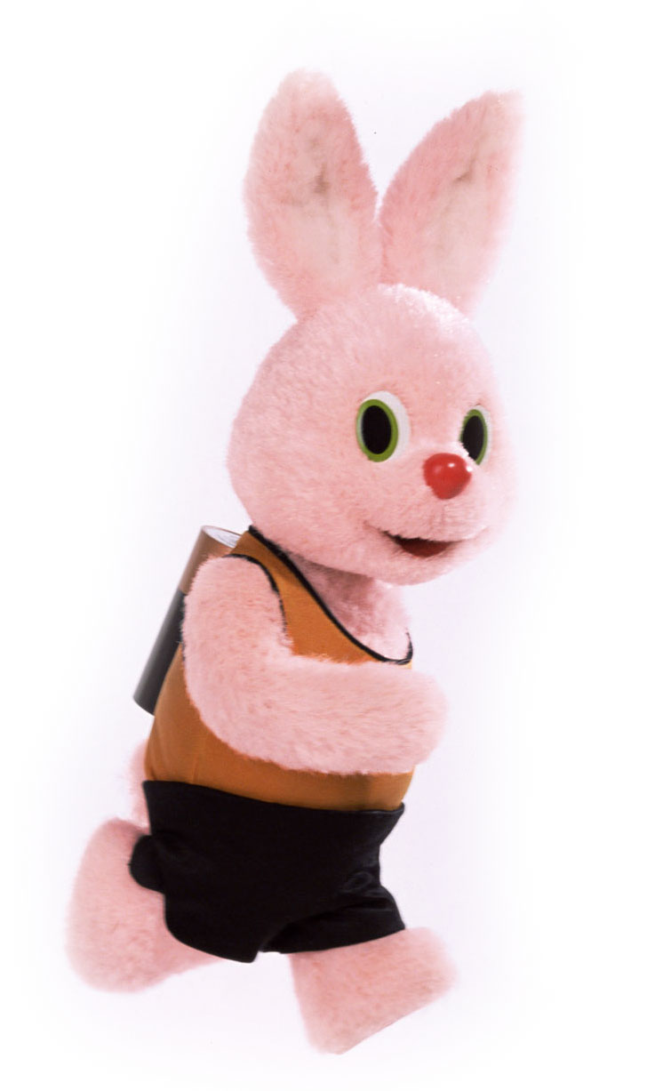 TIL The Duracell battery company used a rabbit mascot ...