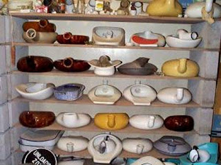 Bedpan collector, Erik Eakin, bedpan collection