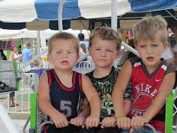 Nathan, Sean & Alex at the Armada Fair