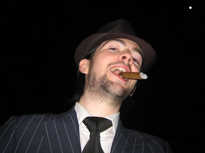 SUITED CIGAR SMOKERS