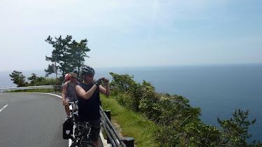 Cycling around Izu peninsula