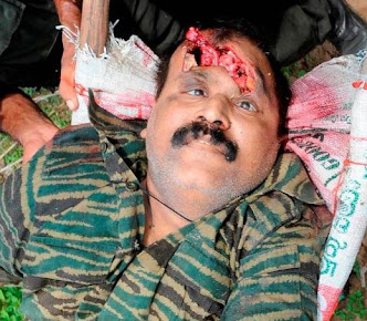 Major Gen Jagath Dias butchered Pirabakaran