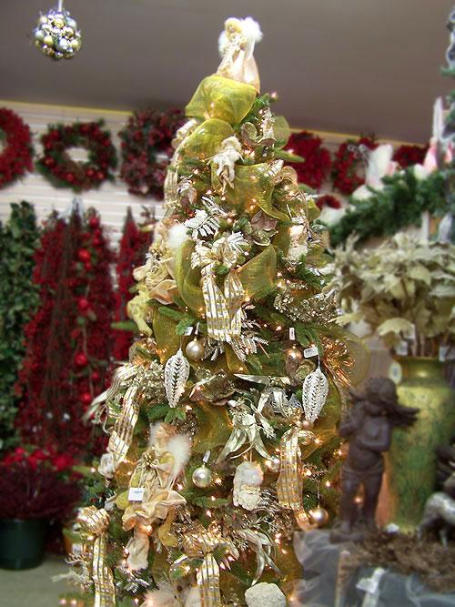 themed christmas trees - Angel Christmas Tree