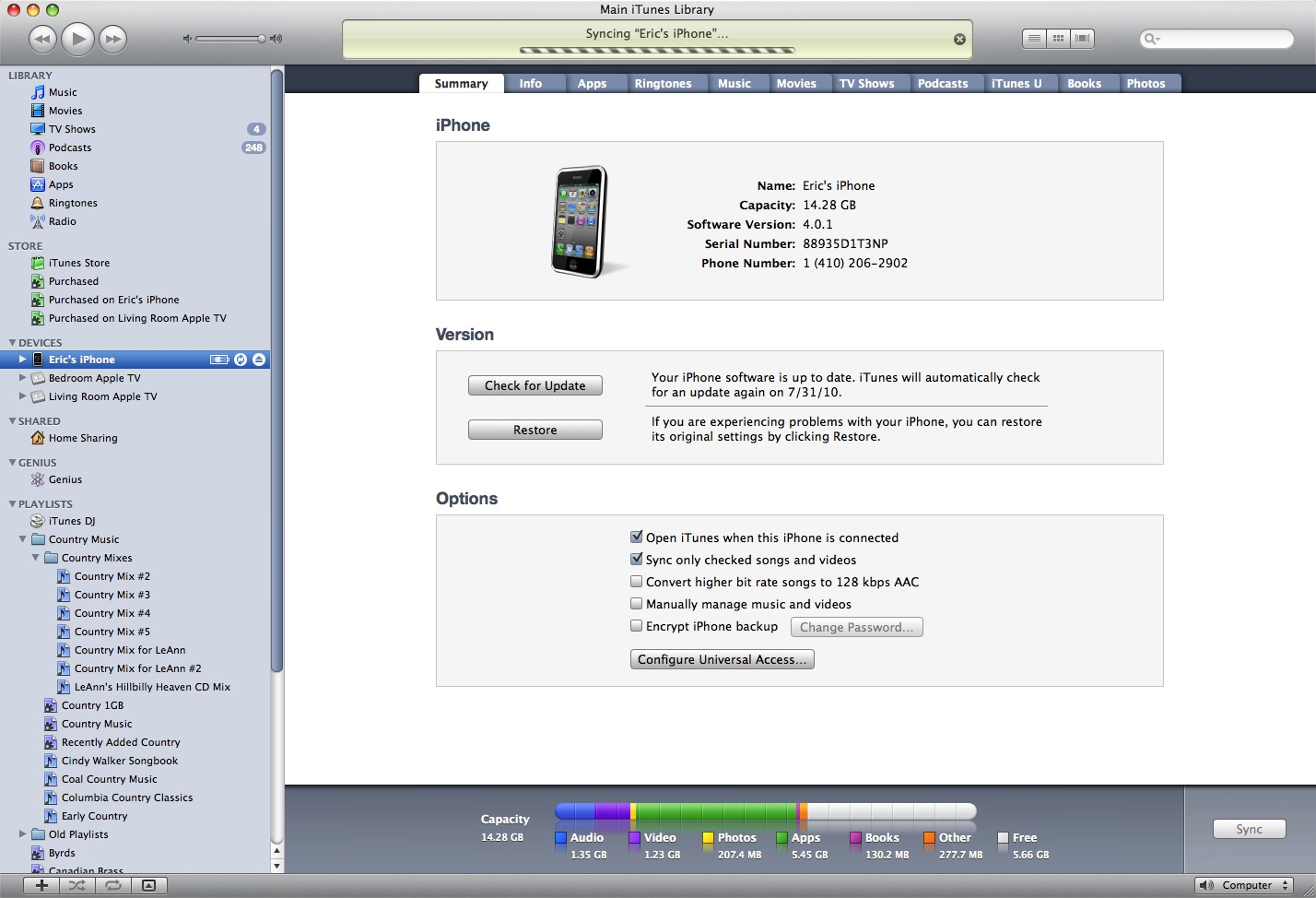 If Its Already Connected At The Time You Import EPUB Into ITunes Just Highlight IDevice On Left Side Of Window And Click