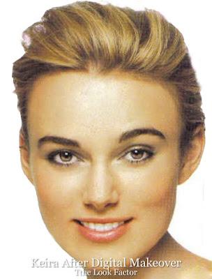 keira knightley nose. Keira Knightley Eyebrows Are