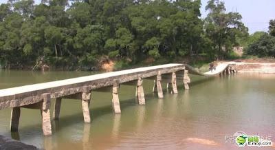 最牛建築 倒拱橋