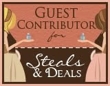I did a guest post for Steals and Deals!